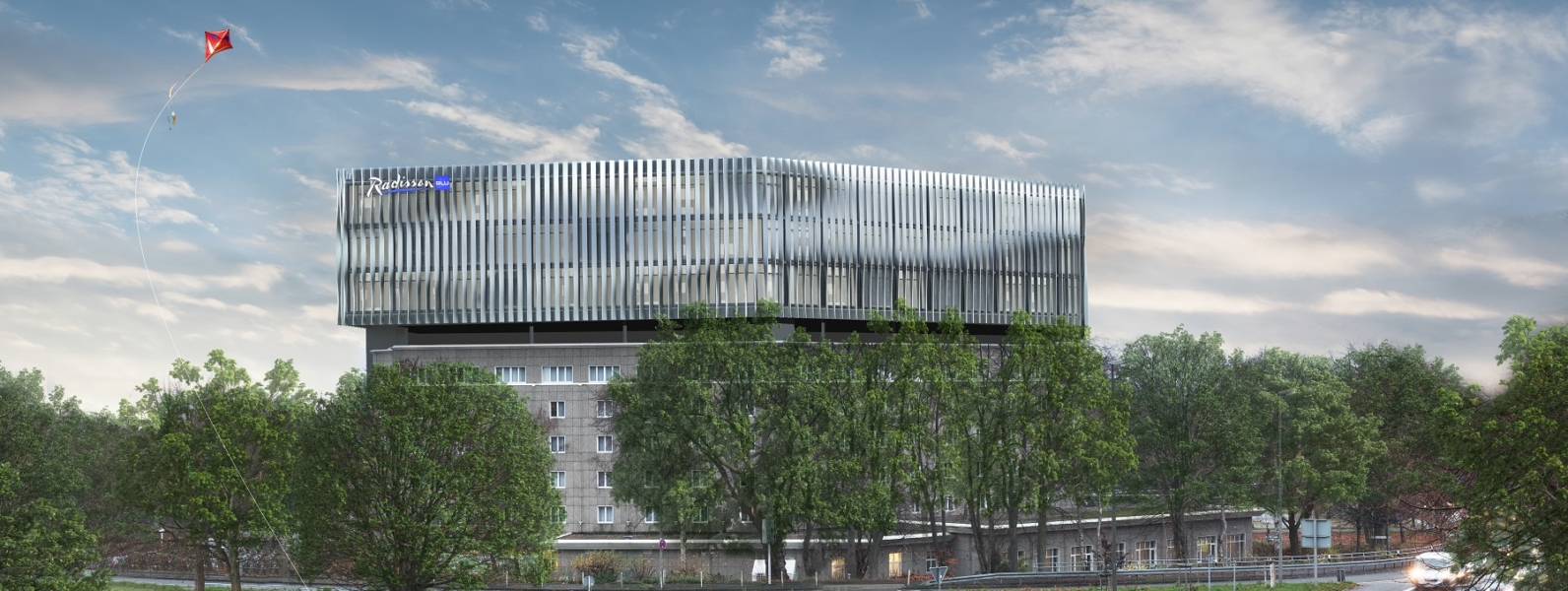 Visualisierung Hotel Dortmund stadtauswärts