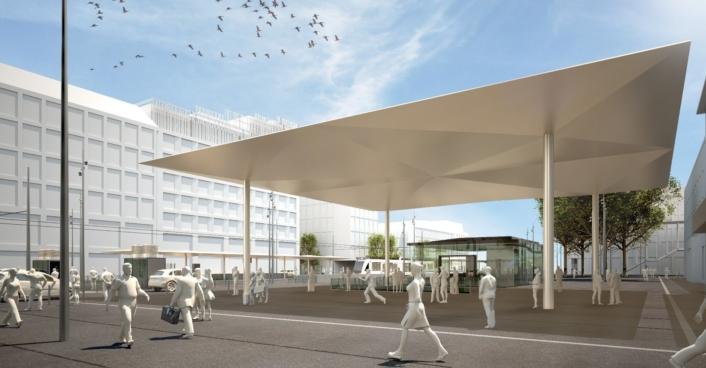 Scheffler Helbich Architekten Architekturbüro Berlin Dortmund Rendering