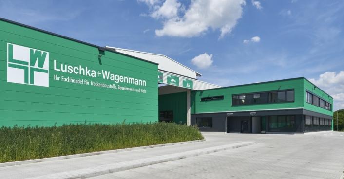 Baustoffmarkt Luschka + Wagenmann In Mannheim Scheffler Helbich Architekten Dortmund