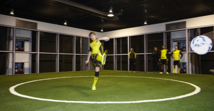 BVB 09; Borussia Dortmund; Fußball; Footbonaut SHA Scheffler Helbich Architekten Dortmund