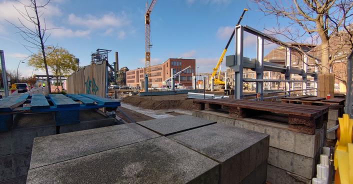 Baustelle Parkhaus