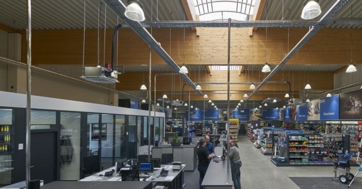 Baufachmarkt Thelen In Simmerath Scheffler Helbich Architekten Dortmund