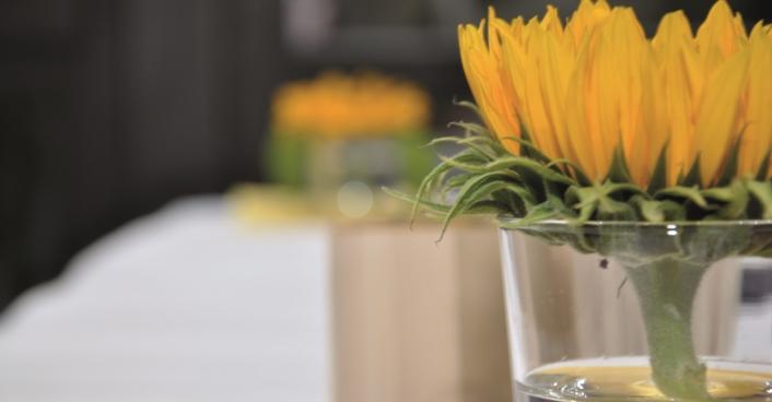 Blume Büro