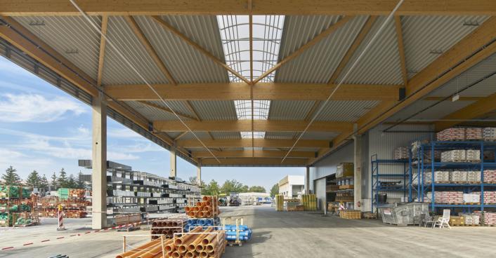Baustoffmarkt Fatheuer Hamm SHA Scheffler Helbich Architekten