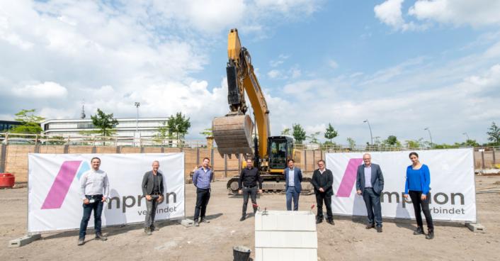 Grundsteinlegung Projekthaus Amprion
