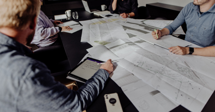 SHA Besprechung Büro Architektur