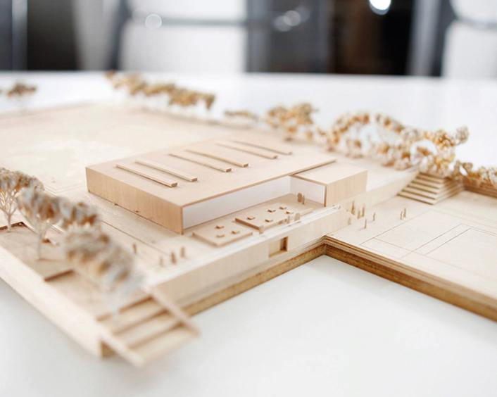 Modell Holzhaus